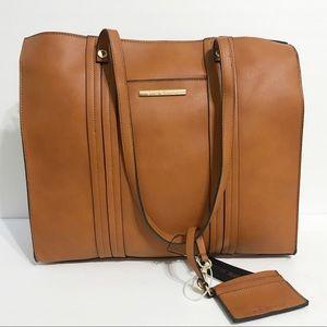 Steve Madden Cognac Bandora Shoulder Bag